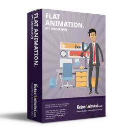 membuat flat animation