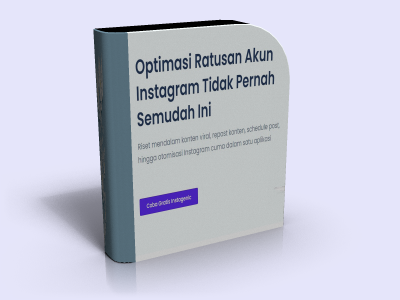 Instagenic Optimasi Ratusan Akun Instagram